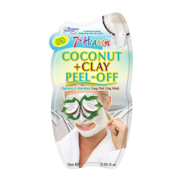 7th Heaven Montagne Jeunesse Coconut and Clay Peel Off Face Mask