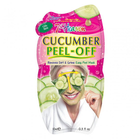 7th Heaven Montagne Jeunesse Cucumber Peel Off Face Mask