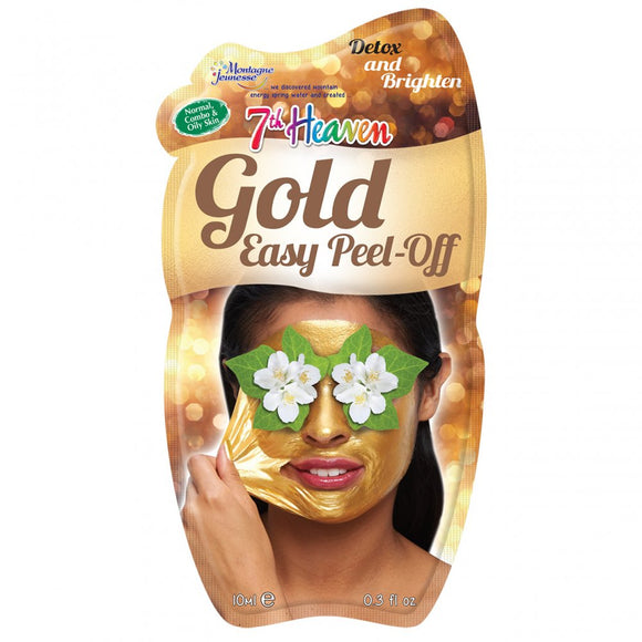 7th Heaven Montagne Jeunesse Gold Peel Off Face Mask