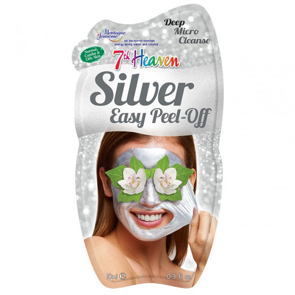 7th Heaven Montagne Jeunesse Silver Peel Off Face Mask