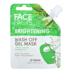 Face Facts Brightening Wash Off Gel Mask - 60ml
