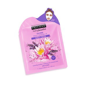 Freeman Calming Lotus + Lavender Oil Sheet Mask - 25ml