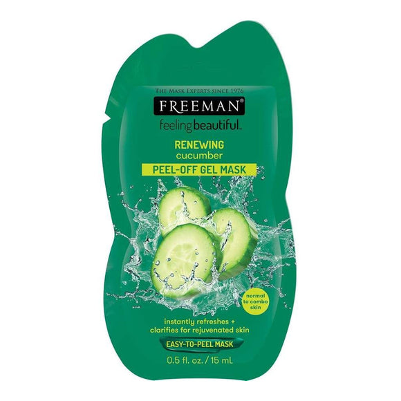 Freeman Renewing Cucumber Peel-Off Gel Mask Sachet - 15ml
