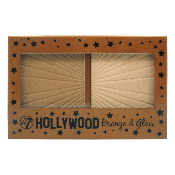 W7 Hollywood Bronze and Glow Compact