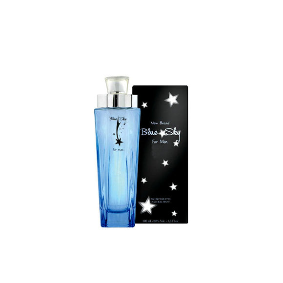 New Brand Blue Sky 100ml Eau De Toilette