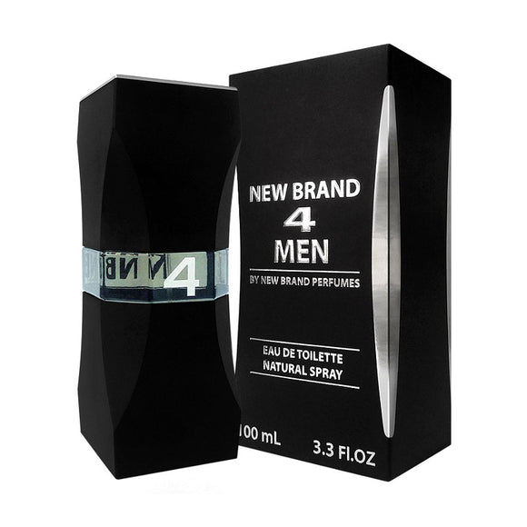 New Brand 4 Men 100ml Eau De Toilette