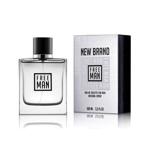 New Brand Free Man 100ml Eau De Toilette