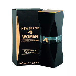 New Brand 4 Women 100ml Eau De Parfum