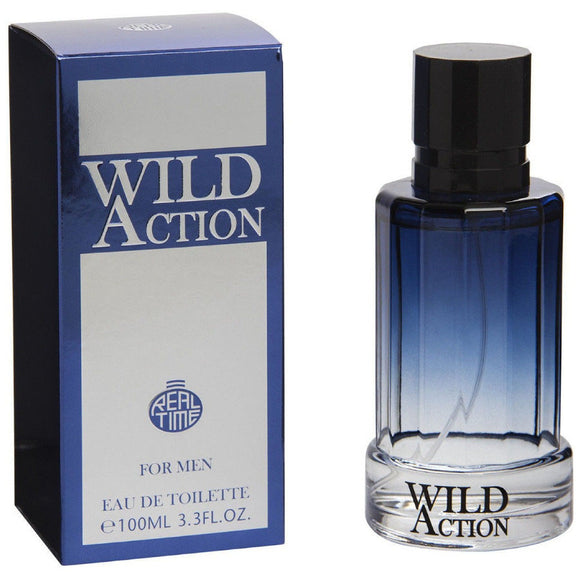 Real Time Wild Action 100ml Eau De Toilette