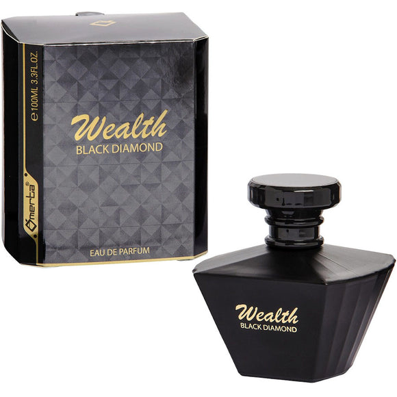 Omerta Wealth Black Diamond 100ml Eau De Parfum