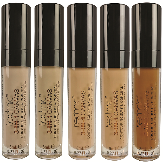 Technic 3-in-1 Canvas Concealer
