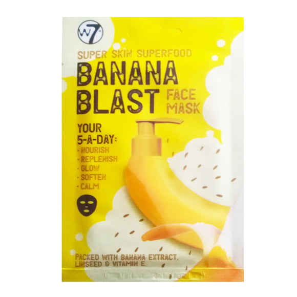 W7 Super Skin Superfood Banana Blast Face Mask
