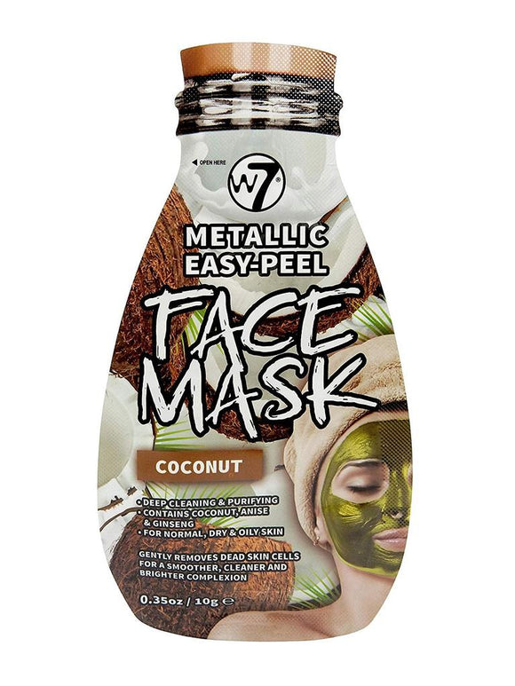 W7 Metallic Easy-Peel Coconut Face Mask