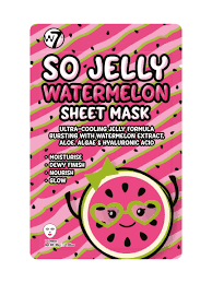 W7 So Jelly Watermelon Sheet Mask