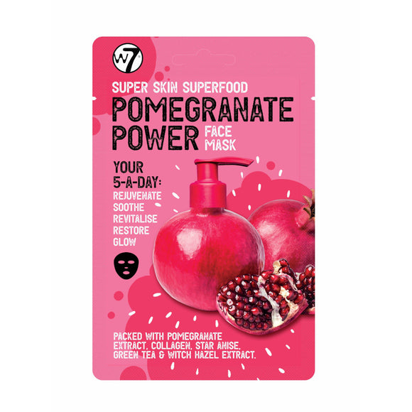 W7 Super Skin Superfood Pomegranate Power Face Mask