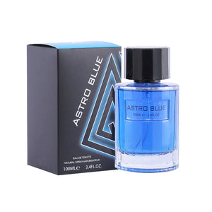 Fine Perfumery Astro Blue 100ml Eau De Toilette For Him