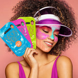 Freeman Neon Vibes Ghosted Peel-Off Mask Sachet
