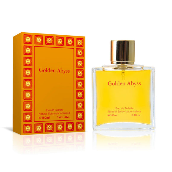 Fine Perfumery Golden Abyss 100ml Eau De Toilette For Him