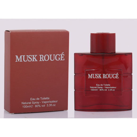 Fine Perfumery Musk Rouge 100ml Eau De Toilette For Him