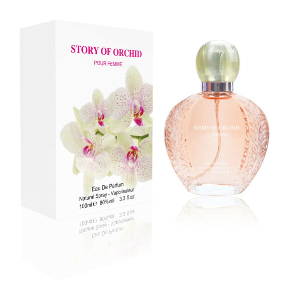 Fine Perfumery Story of Orchid 100ml Eau De Parfum For Her