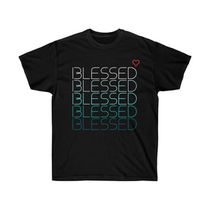 Blessed Heart | Unisex Ultra Cotton Tee - LOL, I NEED That!