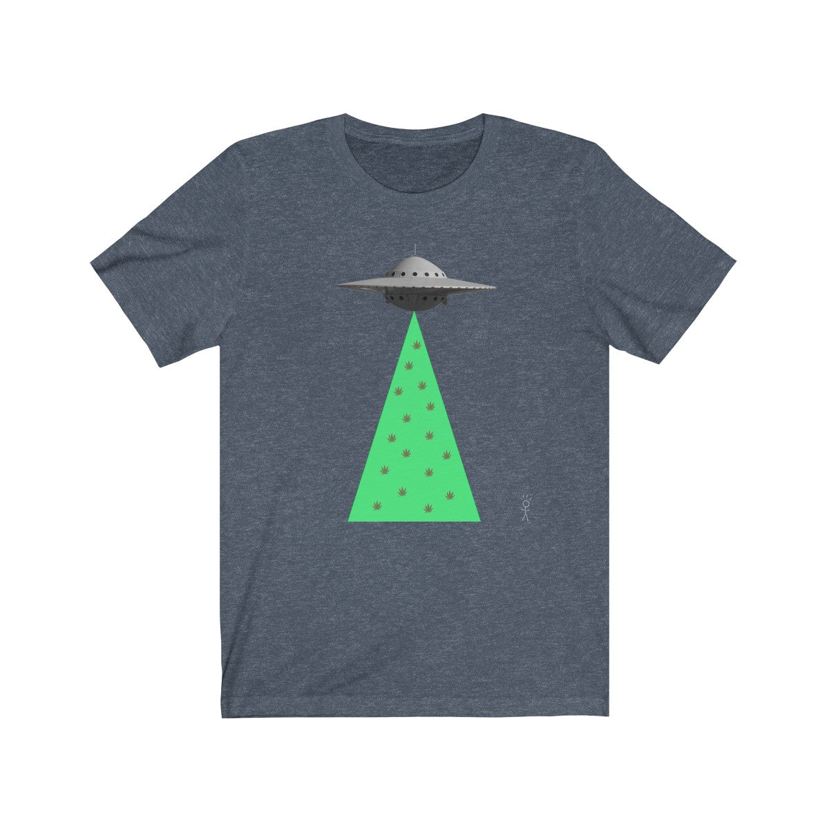 (UFO POT) Unisex Jersey Short Sleeve Tee - lol - LOL, I Need that! LLC