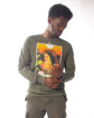 The Jhene Tarot Long Sleeve T-Shirt - AKARTS