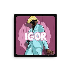 The Tyler the Creator IGOR Canvas - AKARTS