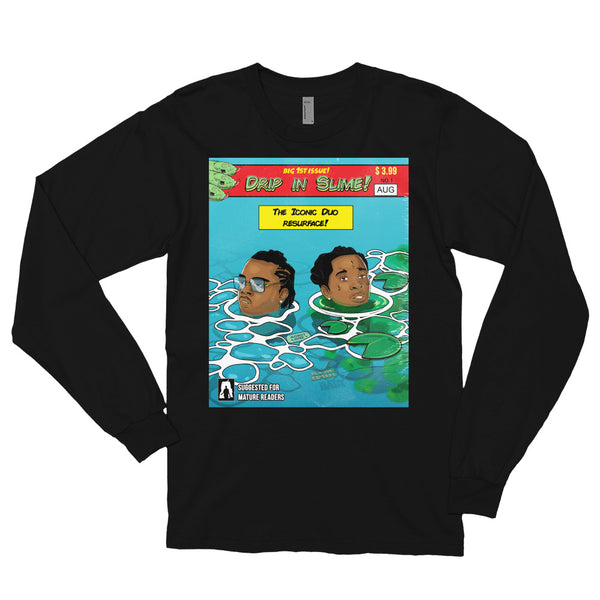 The Young Thug & Gunna Drip in Slime Long Sleeve T-Shirt - AKARTS