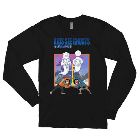 The Kids See Ghosts Long Sleeve Tee - AKARTS