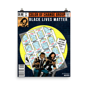 The Black Lives Matter Poster - AKARTS
