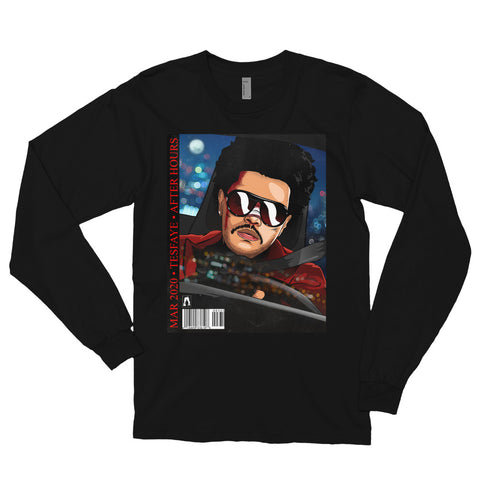 The After Hours TheWeeknd Long Sleeve T-Shirt - AKARTS
