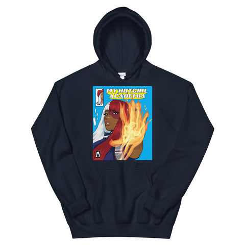 The Megan Thee Stallion HotGirl Academia Hoodie - AKARTS