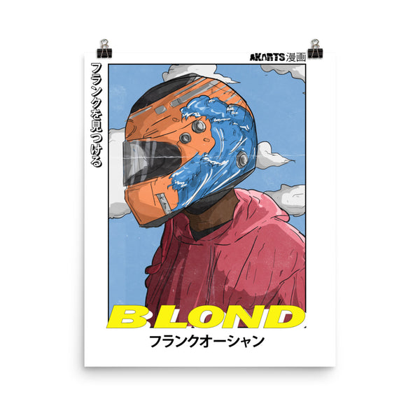 The Frank Ocean Poster - AKARTS
