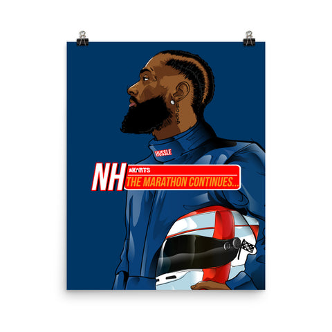 The Nipsey Hussle Poster - AKARTS