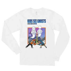 The Kids See Ghosts Long Sleeve T-Shirt - AKARTS