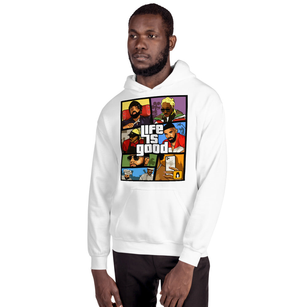 The Life is Good Hoodie - AKARTS