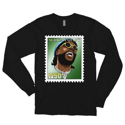 The Burna Boy Long Sleeve Tee - AKARTS