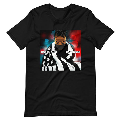 The BLM Now and Forever T-Shirt - AKARTS