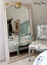Gilded French Rustic Mirror