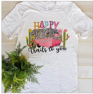 Happy Trails to You Tee