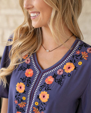 La Playa Embroidery Top