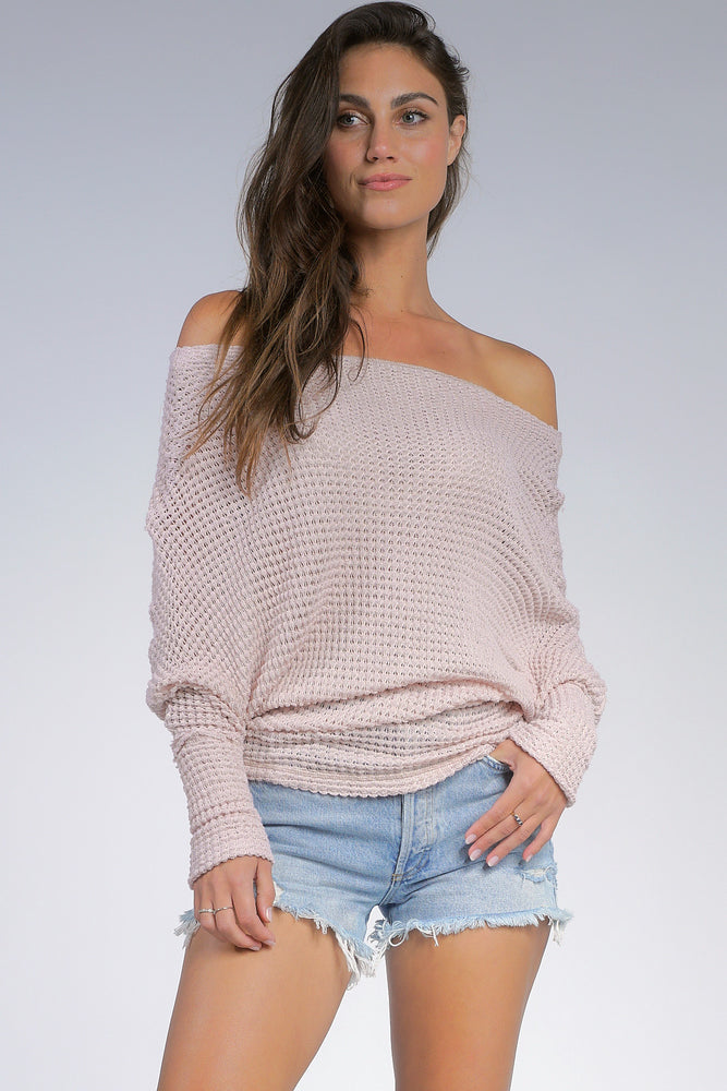 Lightweight Blush Sweater