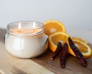 Sweet Mandarin & Chili Pepper Candle
