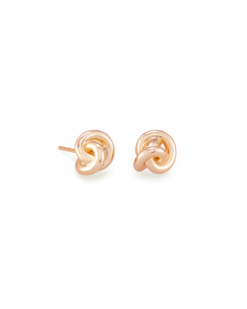 Presleigh Stud Earring Rose Gold Metal