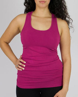 Perfect Fit Racerback Tank - Easy Fit Fuchsia