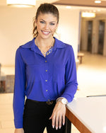 favorite button up top - Spectrum Blue
