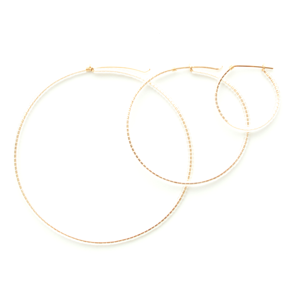 Erika Hoop Lace 14K Gold Fill