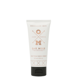 Oak Moss Goats' Milk Hand Cream - 2 oz