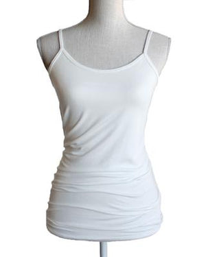 Perfect Fit Spaghetti Strap Tank - Ivory